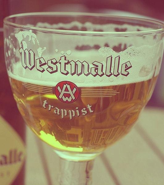 glas Westmalle tripel