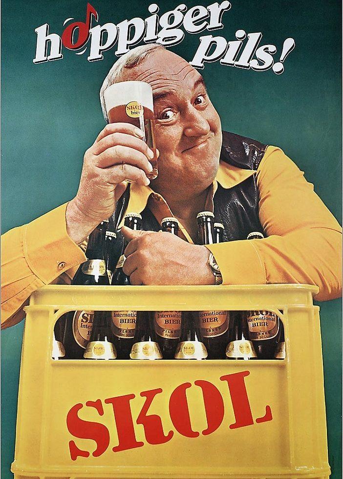 bierreclame uit de jaren 1980