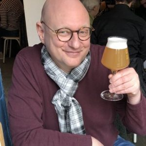 Bierschrijver Frits Dunnink