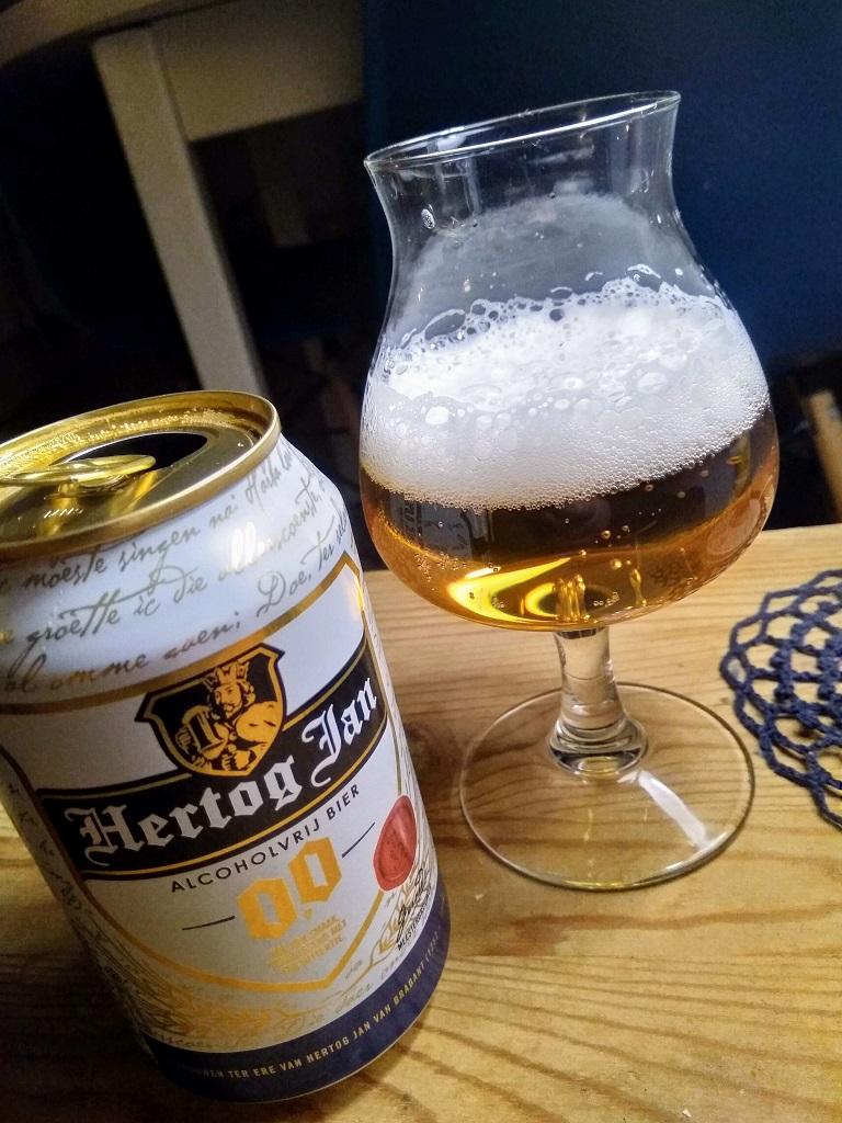 Proefglas met Hertog Jan 0.0