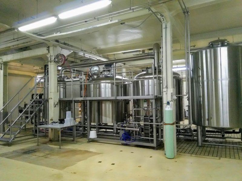Brouwinstallatie van een onafhankelijke brouwerij in Nederland