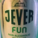 etiket van Jever Fun alcoholvrij bier