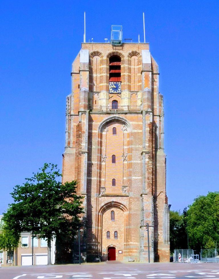 De Oldehove in Leeuwarden op een zomerse dag