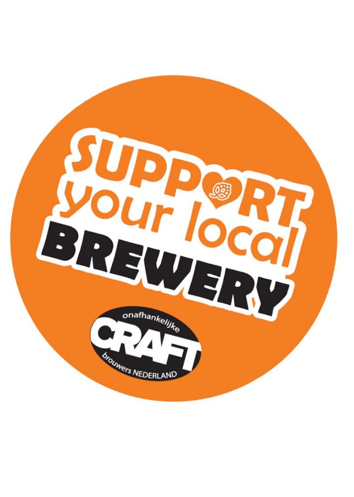 logo van de campagne Support Your Local Brewery