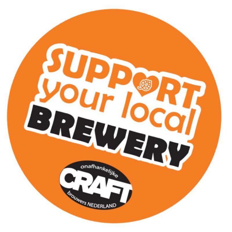 De actie 'Support your local brewery' van CRAFT