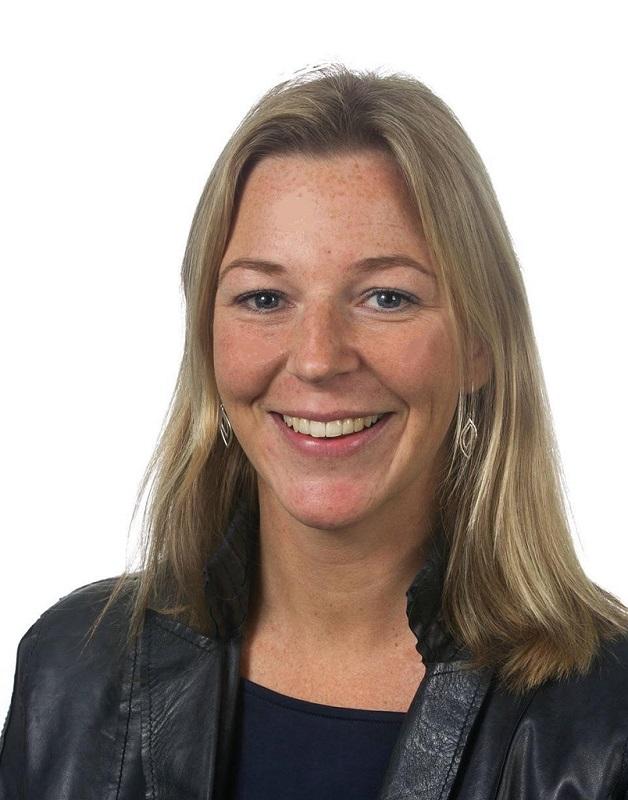 Lucie Wigboldus, sinds vier maanden directeur van Nederlandse Brouwers