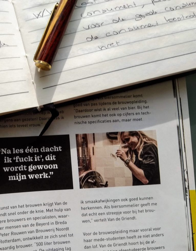 Interview Jet van de Griendt in Hopster Magazine