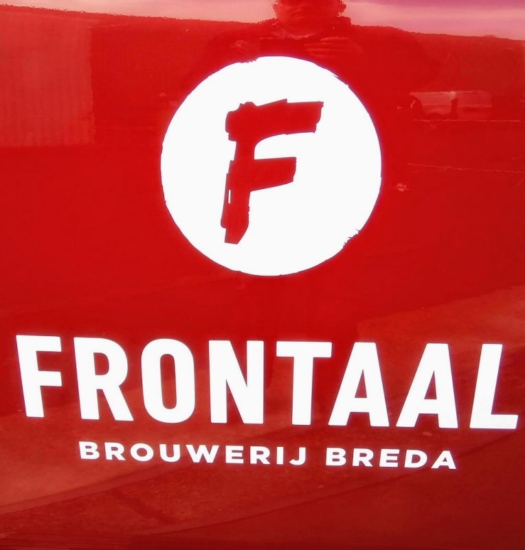 logo van brouwerij Frontaal uit Breda