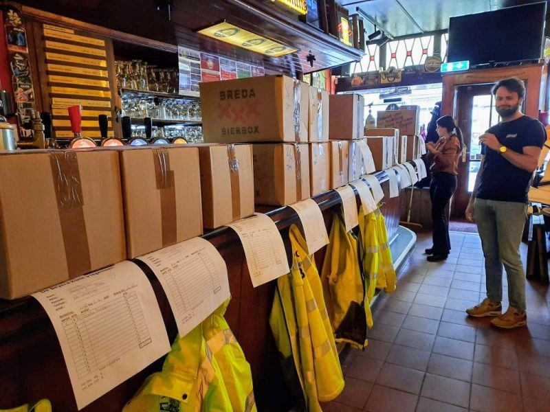 Breda Bier Box voorbereiding bij De Beyerd