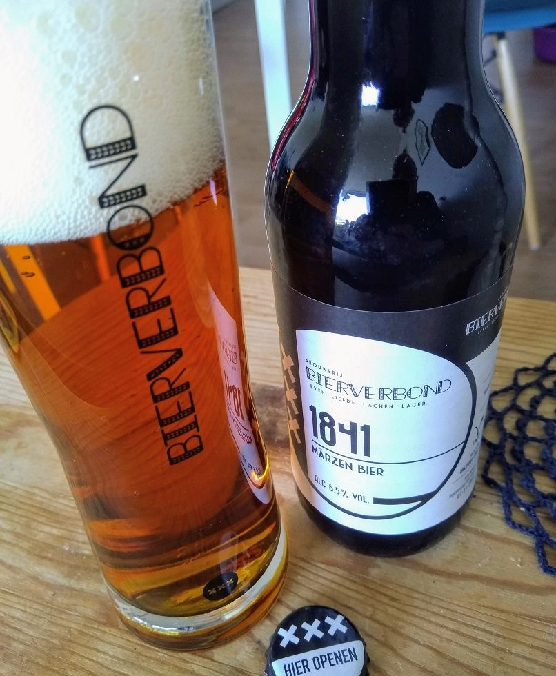 Märzen van de Amsterdamse brouwerij Bierverbond