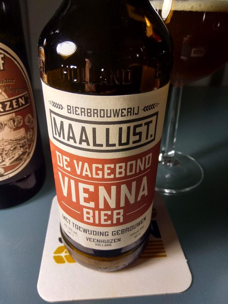 De Vagebond, bier van het type Vienna Lager van brouwerij Maallust