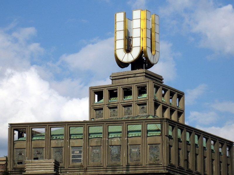 Dortmunder U voor de renovatie, in 2007