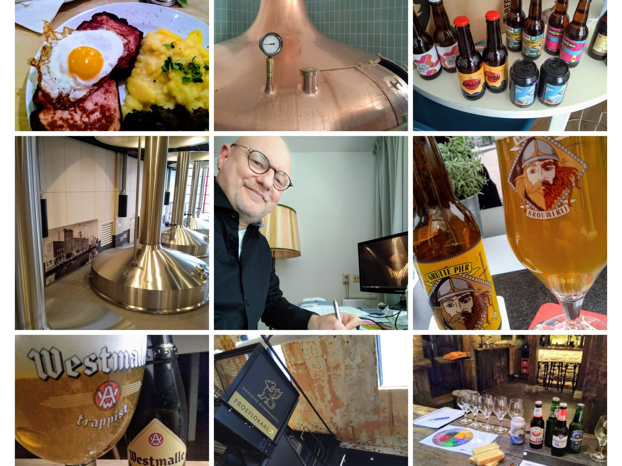 Collega van bierschrijver Frits Dunnink