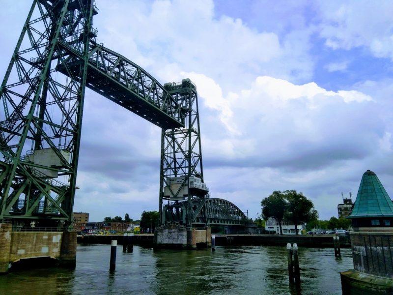Koningshavenbrug 'De Hef' in Rotterdam