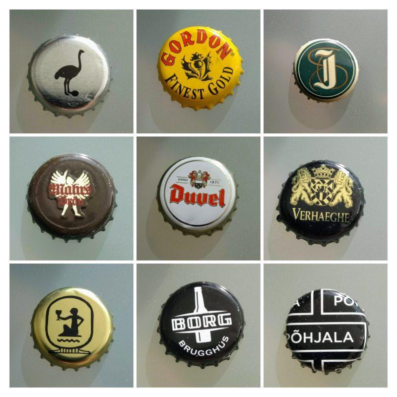 collega van kroonkurken gebruikt door bierbrouwers
