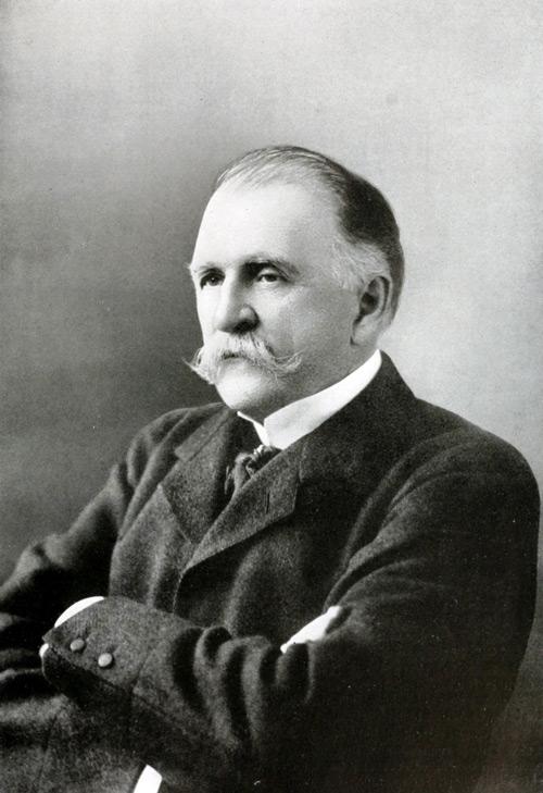 portret van de uitvinder William Painter