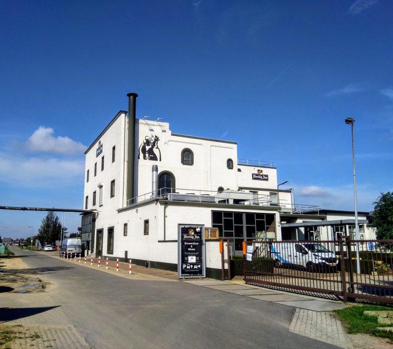 De brouwerij Hertog Jan in Arcen