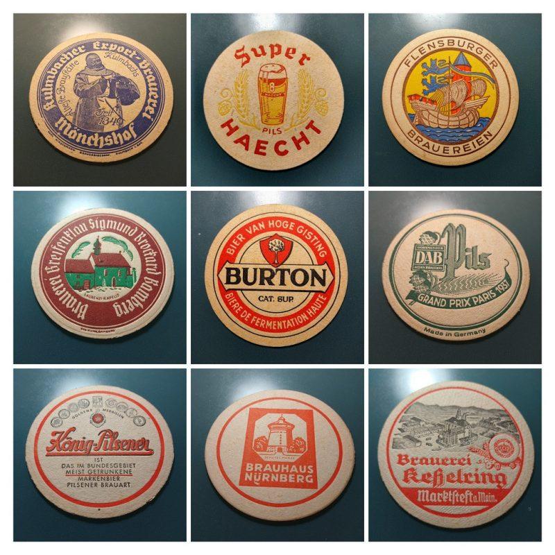 college van biervilten uit de jaren '50