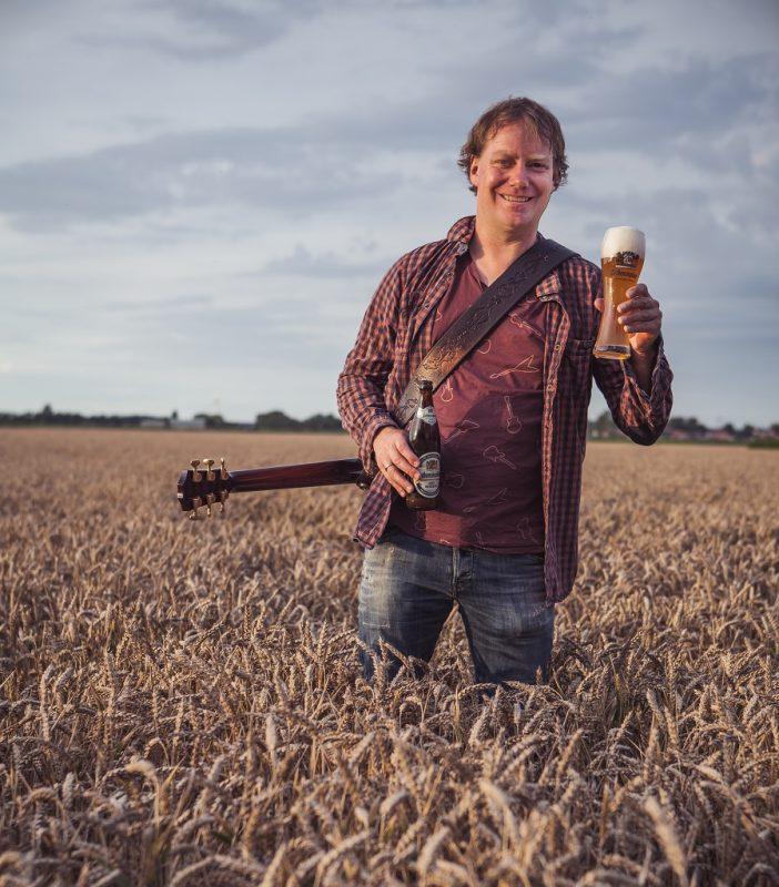 Jan Nota met zijn favoriete zomerbier