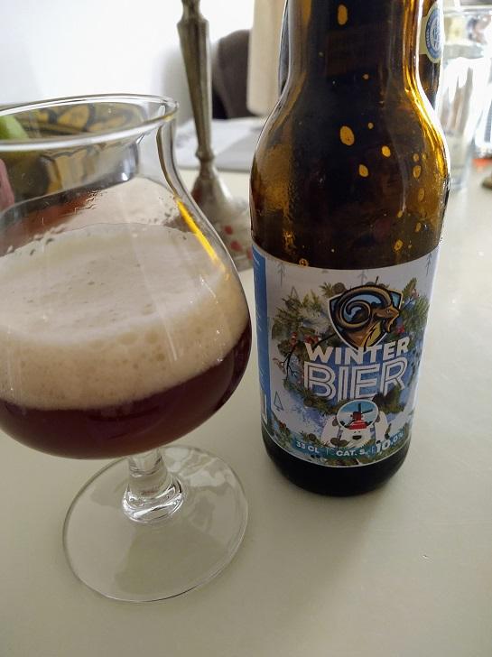 Winterbier van brouwerij 't Meuleneind