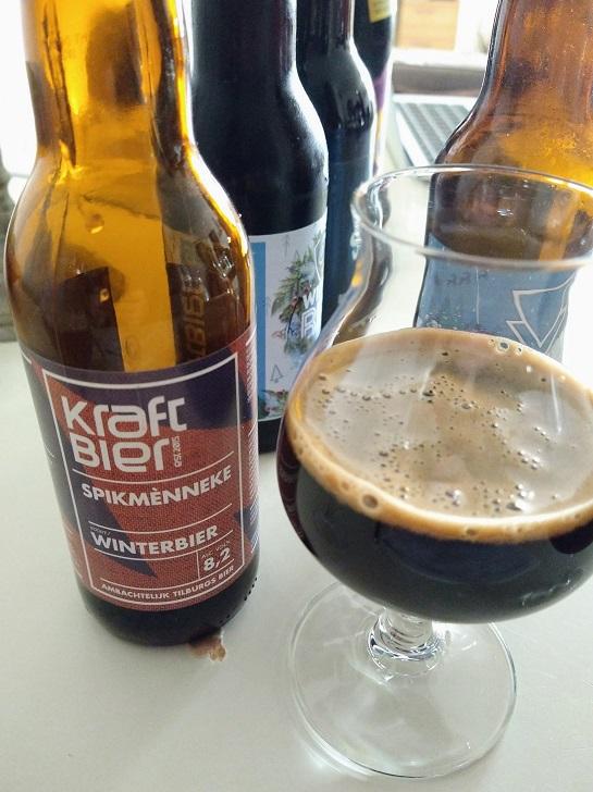 Spikmènneke van brouwerij Kraftbier