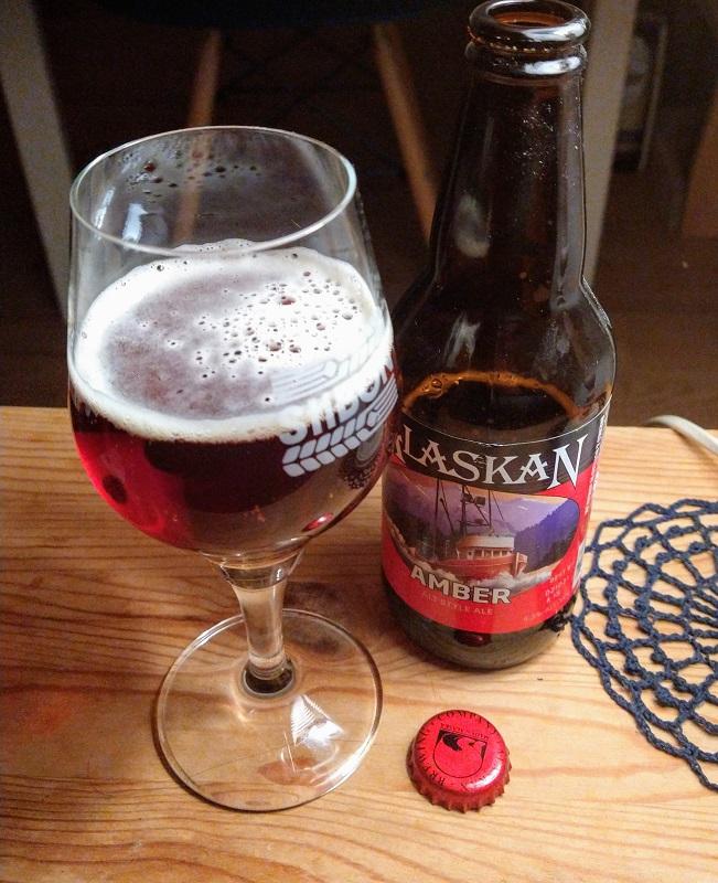 Amber van de Alaskan Brewing Company