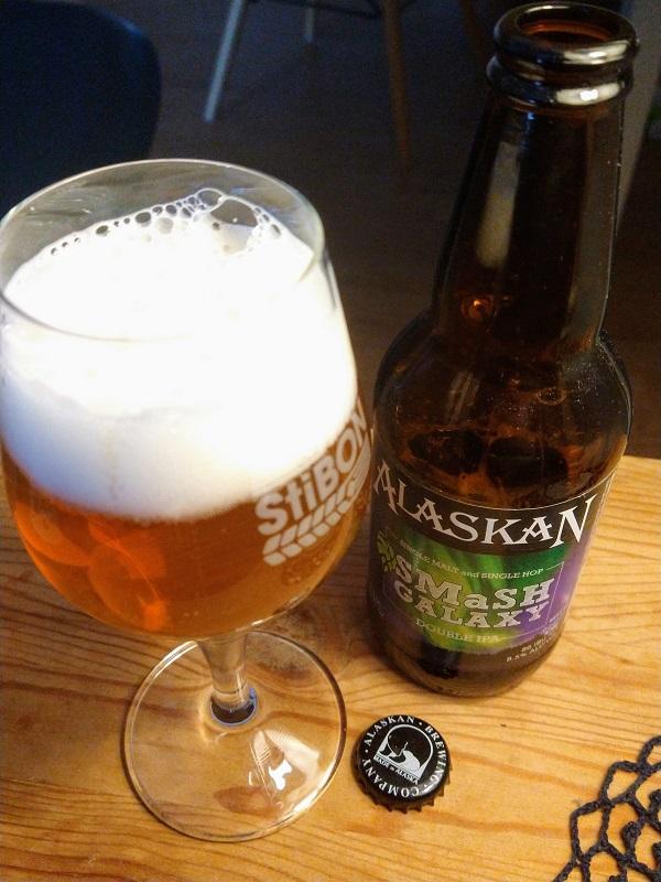 SMaSH Galaxy van Alaskan Brewing Company