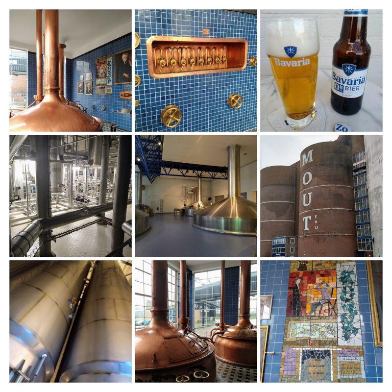 impressie van het werkbezoek aan de brouwerij van Swinkels Family Brewers