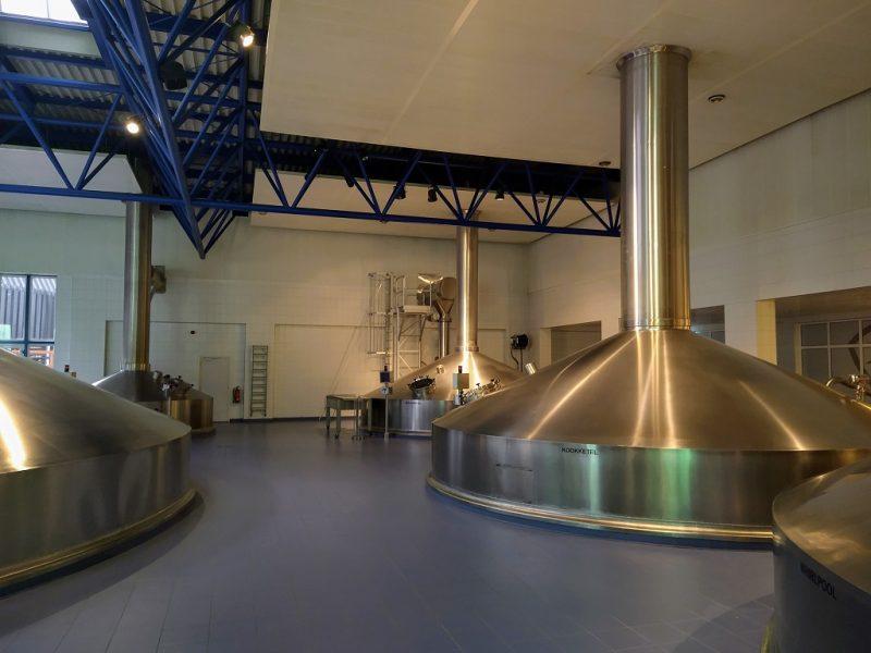 brouwzaal in de Bavaria brouwerij te Lieshout