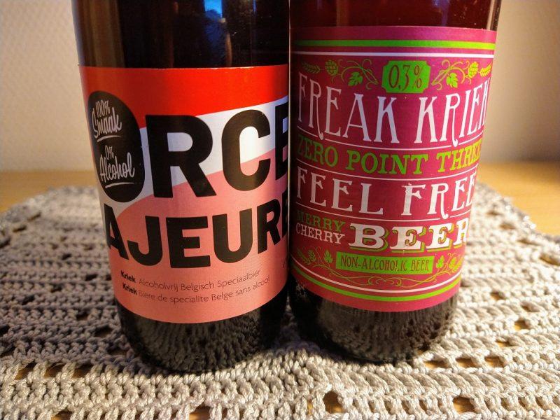 keurig in het gelid: flesjes bier van Flying Dutchman en Force Majeure