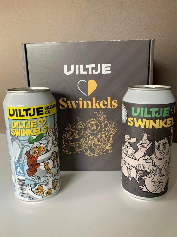 limited edition bieren van Uiltje Brewing Company gebrouwen ter gelegenheid van de overname door Royal Swinkels