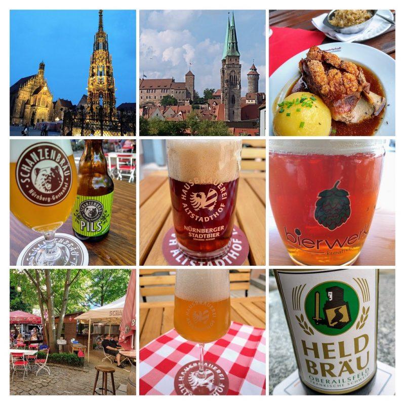 Bier drinken in Neurenberg: een impressie.