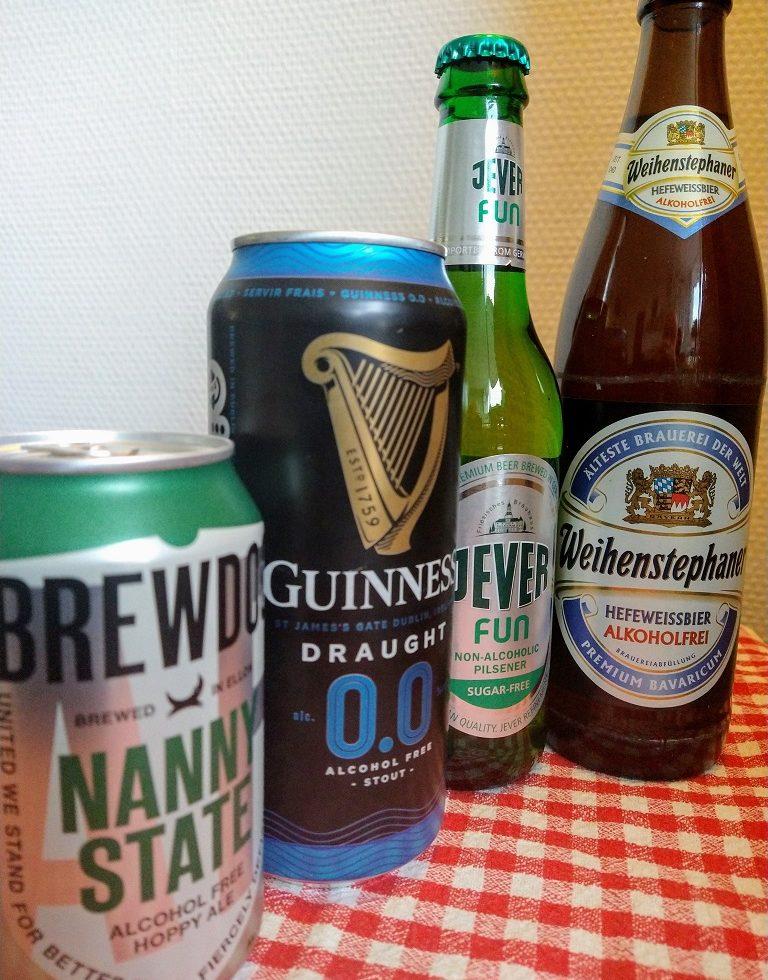 Alcoholvrij en laag in calorieën